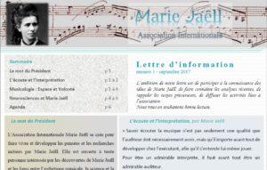 lettre de l'AIMJ
